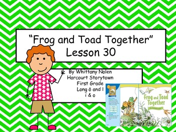 Frog and Toad Together Storytown Lesson 30