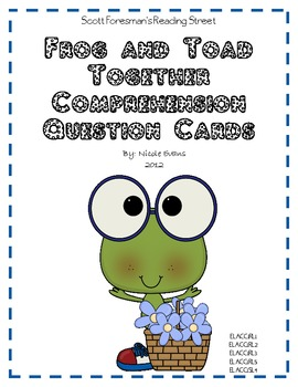 Frog and Toad Together - The Garden - Comprehension Questions