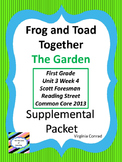 Frog and Toad Together:  The Garden--Supplemental--Reading Street First Grade