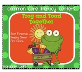 Frog and Toad Together Unit 3 Week 4 Reading Street Common Core Literacy Centers