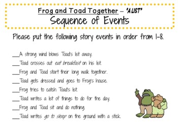 Frog and Toad Together by Arnold Lobel:    A Complete Literature Study!