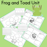 Frog and Toad  Unit for PreK to 2nd Grade