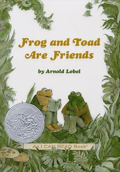 """Frog and Toad are Friends """"A Lost Button"""" Activities/Questions"""