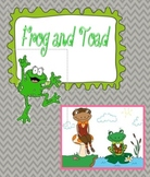 Frog and Toad are Friends- Buttons