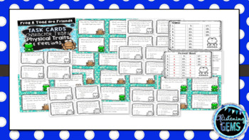 Frog and Toad are Friends Character Trait Task Cards