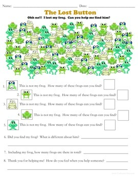 Frog and Toad are Friends Emotional Literacy Worksheets