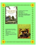 Frog and Toad are Friends - Fiction & Non-Fiction Comprehensive Unit