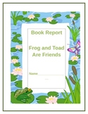 Frog and Toad are Friends Literacy booklet