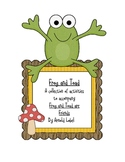Frog and Toad are Friends Unit Sample