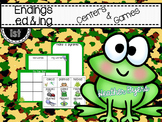 Endings -ed & -ing Centers and Games