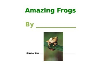 Frog and Toad writing