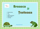 Frog and Turtle Life Cycle in Romanian, Broasca si Testoas