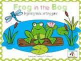 Frog in the Bog Letter Sound Sorting Cards