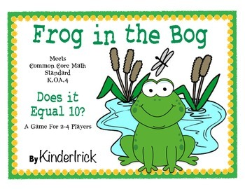 Frog in the Bog Math Game