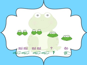 "Frog in the Meadow: A Song to Teach ""Re"""