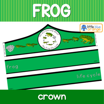 Frog life cycle crown