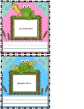 Frog locker cubbie  Nametags