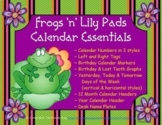Frogs 'n' Lily Pads Calendar Essentials