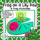 Frog on a Lily Pad Craft and Activities