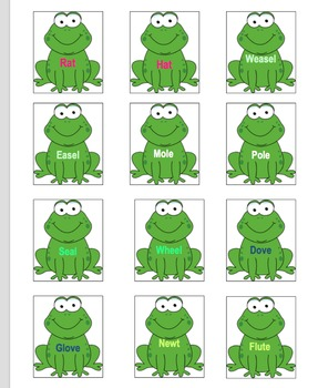 Frog on a Log Memory Game
