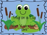 "Frog on a Log - Short ""o"" Word Game"