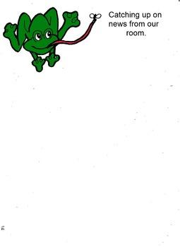 Frog room theme