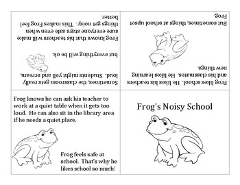 Frog's Noisy School - for students with noise anxiety