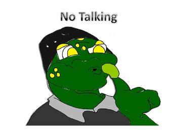 Frog theme graphics