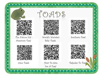 Frog/Toad QR Listening Center