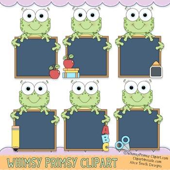 Frogger Chalkboard - Blank
