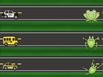 Frogger Desk Nameplates - Editable