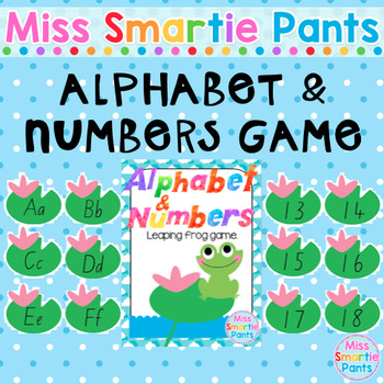 Alphabet & Numbers Leap Frog Game
