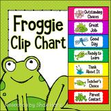 Froggie Behavior Clip Chart - Labels {frog} Positive Behavior