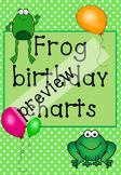 Froggie Birthday chart