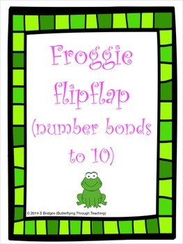 Froggie Flip Flap (number bonds to 10)