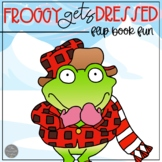 Froggy Gets Dressed Flip Book and Story Necklace