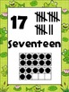 Froggie Number Posters {Common Core Math} Frog Pond with Horizontal Ten Frames