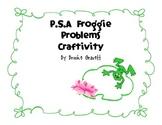 Froggie Problem Craftivity