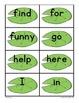 Sight Word Activities FROGS!