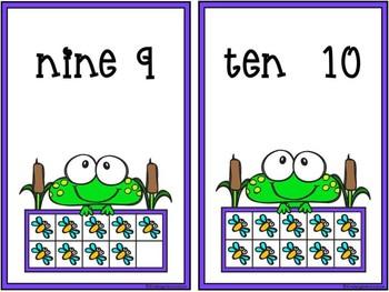 Froggie Ten Frames