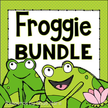 Froggie Themed Classroom Decor BUNDLE {frog} [Back to School]