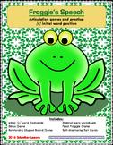 Froggie's Speech Articulation Practice: initial /s/