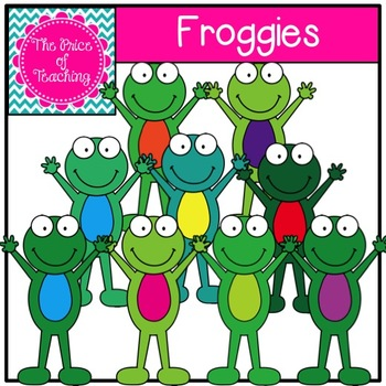 Froggies Clipart Set