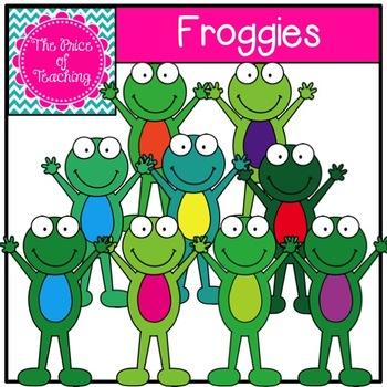 Froggies Clipart Set