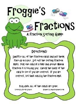 Froggie's Fraction Sort