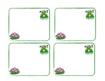 Froggy Addition Math Facts to 5