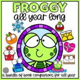 Froggy All Year Bundle of Book Companions