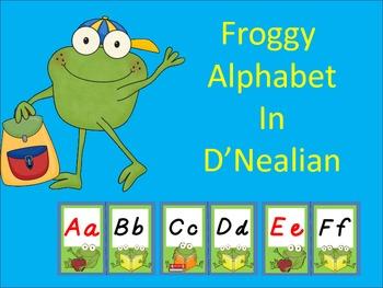 Froggy Alphabet