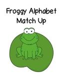 Froggy Alphabet Match Up