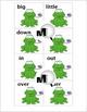 Antonyms Matching - Frog Theme - Opposites - Opposite Match